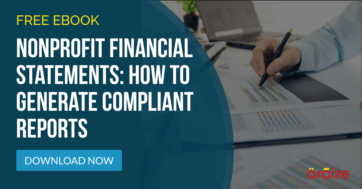 How to Generate Compliant Nonprofit Reports - Free Ebook - araize.com